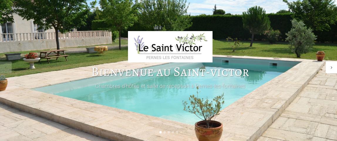 ... Le Saint Victor, Chambre Du0027Hôtes à Pernes Les Fontaines